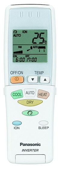 heat pump remote control